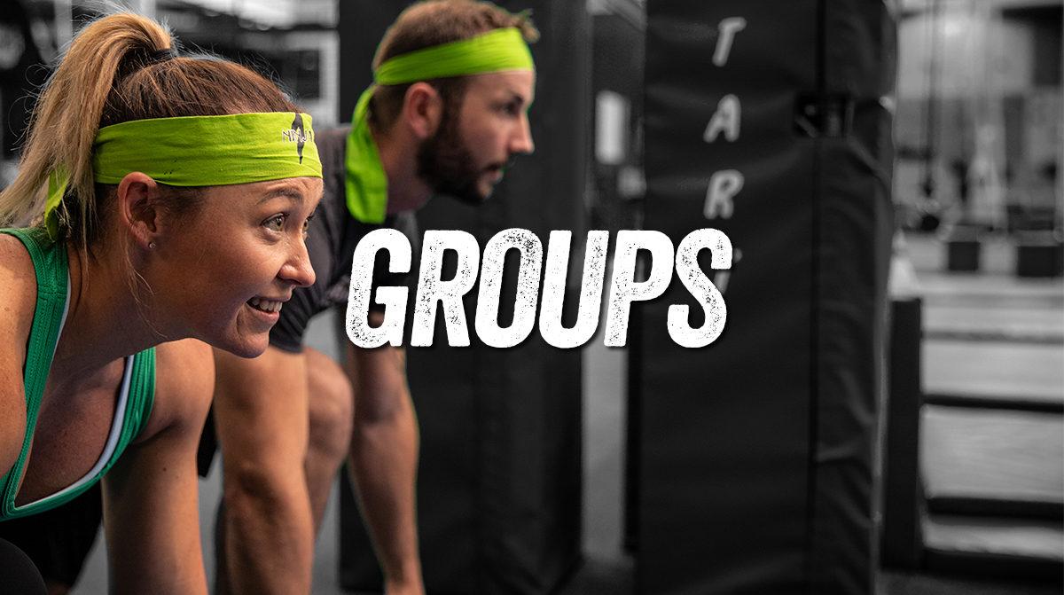 Groups Ninja Parc